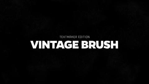 Titles Animator - Vintage Brush After Effects Template