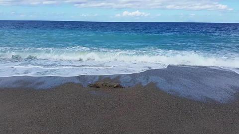 Sea Waves On Beach 1
