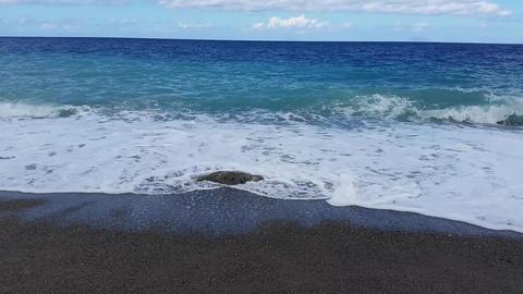 Sea Waves On Beach 2