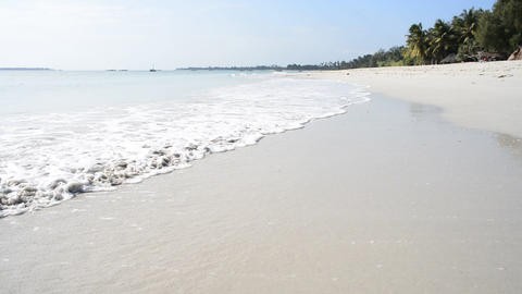 Tanzania White Beach Footage