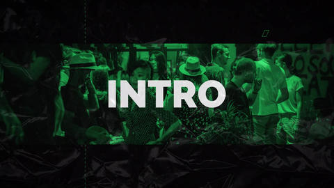 Hip Hop Intro After Effects Template