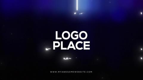 Glitch Bokeh Logo Reveal Intro Premiere Pro Template