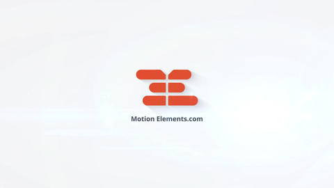 Clean Logo Reveal 3D After Effects Template