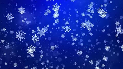 Christmas Loop background winter snowflakes ライブ動画