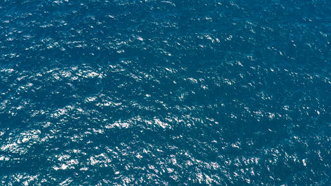 Aerial view of open blue sea and sky ライブ動画