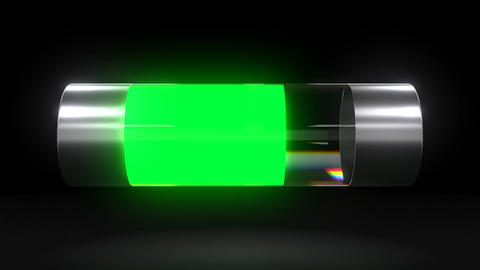 Battery Discharging Shows Electronic Device Battery Discharge Process Live Action