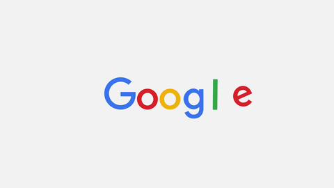 Google Search Logo After Effects Template