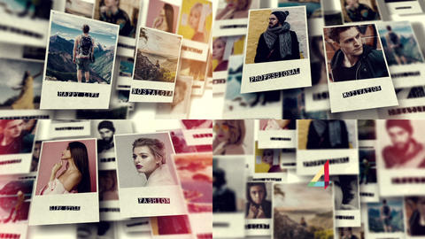 Photo Gallery Slideshow After Effects Template