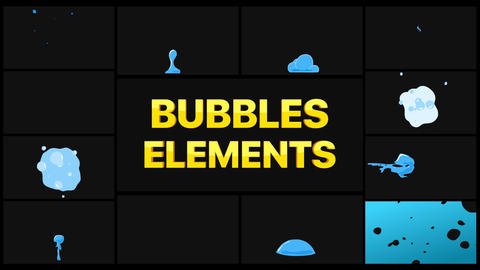 Bubbles Pack After Effects Template