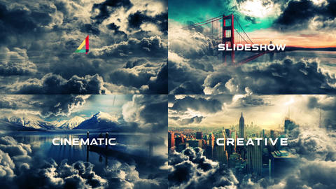Cinematic Slideshow-Storm After Effects Template