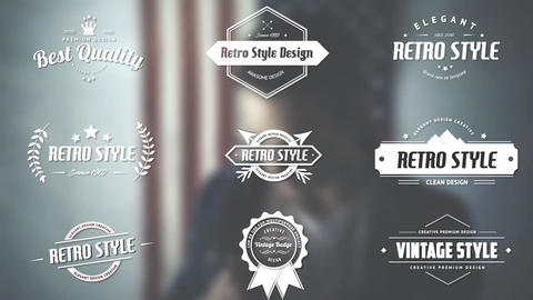 Retro Title Pack After Effects Template