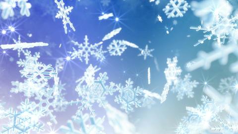 Snow Flake 16 AL1 4k Animation