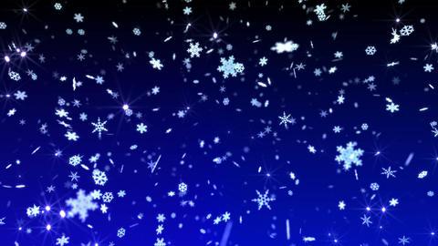 Snow Flake 16 AS1 4k Animation
