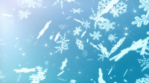 Snow Flake 16 DL1 4k Animation