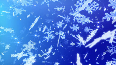 Snow Flake 16 DL2 4k Animation
