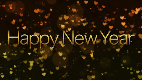 [happy new year] VJ footage [loop] Animation