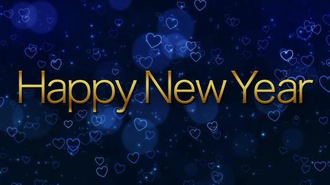 [happy new year] VJ footage [loop] CG動画