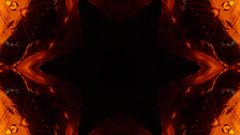 Kaleidoscope nature 4K542 Footage