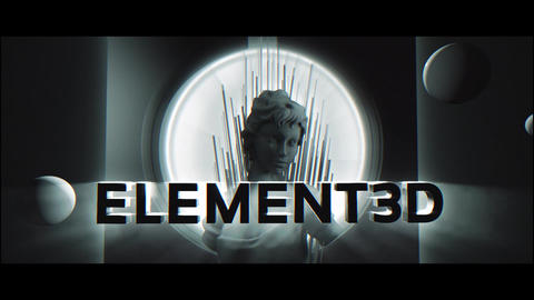 element3d テンプレート After Effectsテンプレート