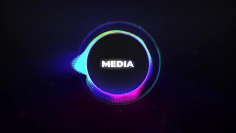 Neon Titles Logo Reveal Premiere Pro Template