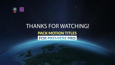 Pack Motion Titles Motion Graphics Template