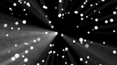 Dot rotation light monochrome Animation