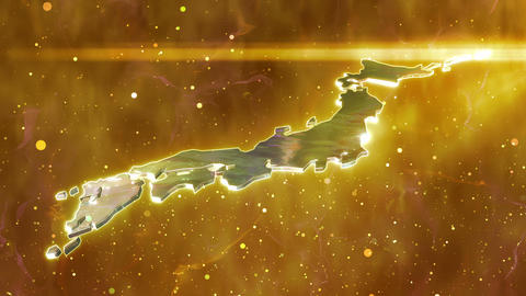 SHA Japan Fire Image Yellow Animation