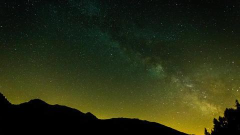 Milky Way Galaxy Live Action