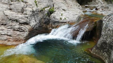 Bath Youth (Lake Kara-Gaulle), the Grand Canyon of Crimea Footage