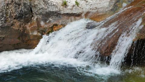 Grand Canyon. Bath Youth (Kara-Gol lake). Crimea Footage