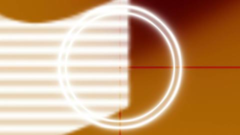 Orange countdown 9 to 0 no lines on BG Animation
