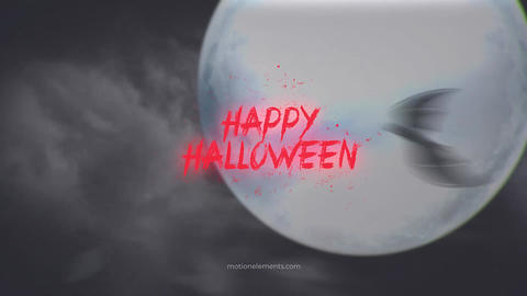Halloween Intro After Effects Template