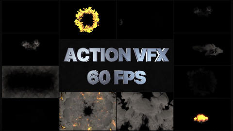 Fire And Smoke VFX Pack Apple Motion Template