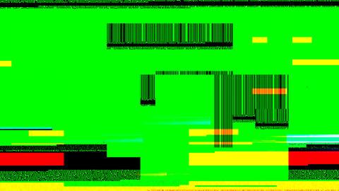 Glitch Effect Footage Alpha 1