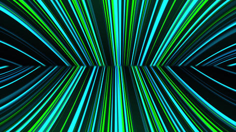 Abstract neon glow of spotlight lines, computer generated. 3d rendering abstract Animation