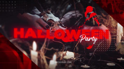 Halloween Party Promo After Effects Template