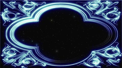 [Loop]Blue line art background material CG動画