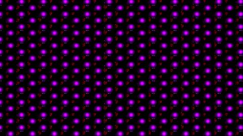 Dot flashing background transparent Animation