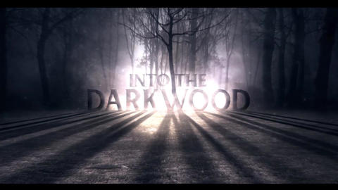 DarkWood Title Intro After Effects Template