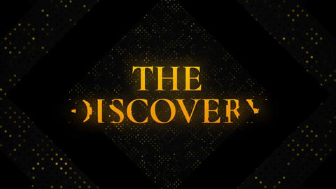 The Discovery // Mogrt Motion Graphics Template