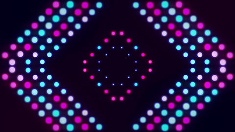 Animated Led Lights Looping Video Background With Bright Purple And Blue Colors Animation