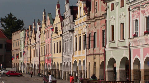 The charming town of Mikulov in the Czech Republic has... Stock Video Footage