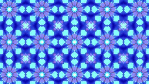 CG background flower pattern CG動画