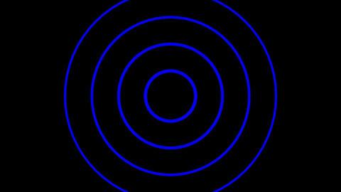 Background CG circle blue 動画素材, ムービー映像素材