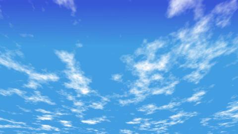 Flowing cloud CG動画