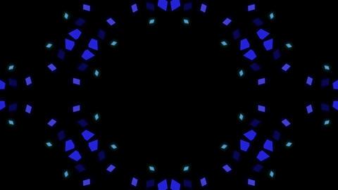 Background CG 3D background kaleidoscope Stock Video Footage
