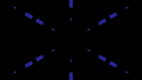 Background CG 3D background kaleidoscope CG動画