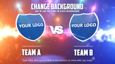Team A VS Team B After Effects Project