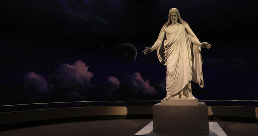 Christus Statue Jesus Christ LDS Church DCI 4K 550 画像