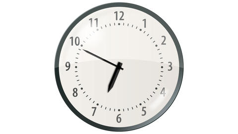 Wall Clock - 36 seconds Animation